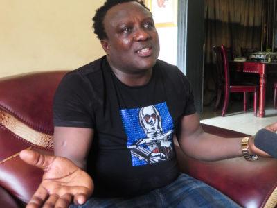 Nigerian music fuji star Saheed Osupa