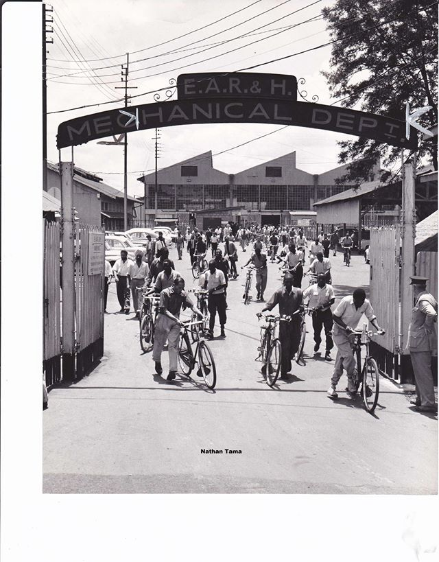 East Africa Railways & Harbours, Mechanical Department, Nairobi, 1950s