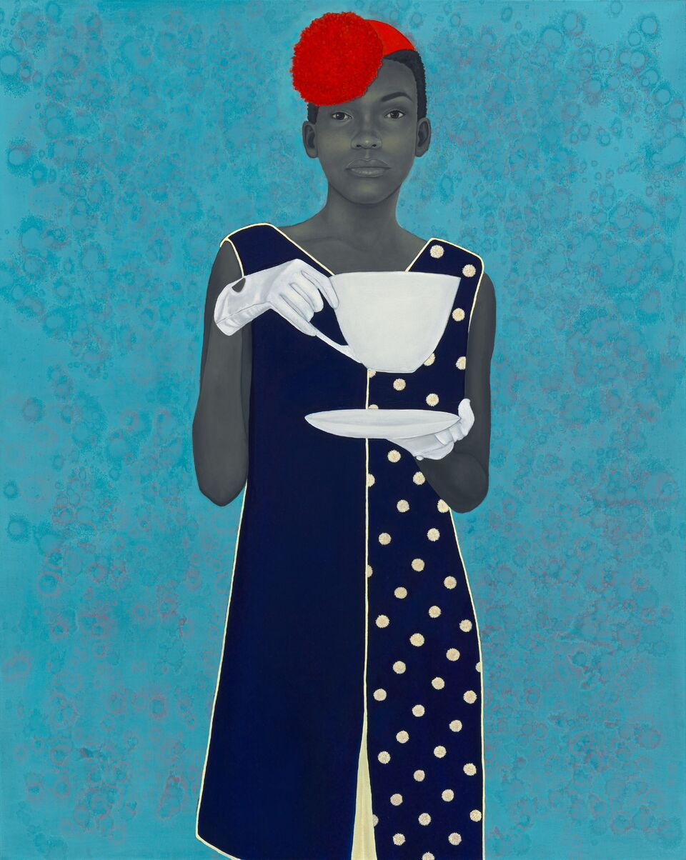 """Portrait """"Miss Everything"""" by Amy Sherald"""