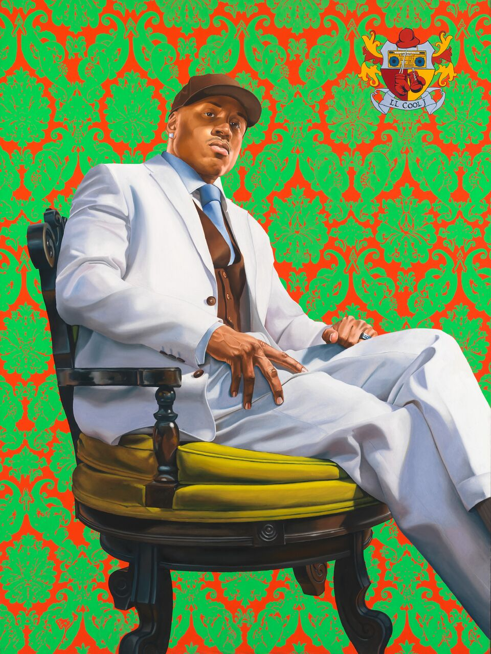 Portrait of LL Cool J by Kehinde Wiley