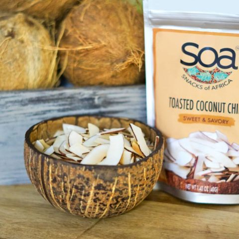 Coconut chips by Snacks of Africa
