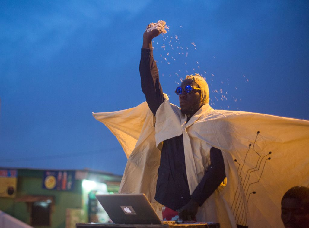Procession at Chale Wote 2017