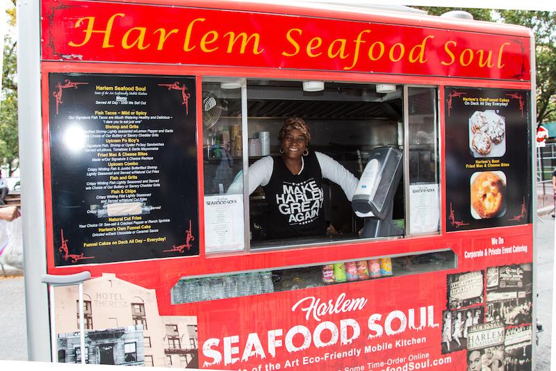 Harlem Seafood Soul food truck.