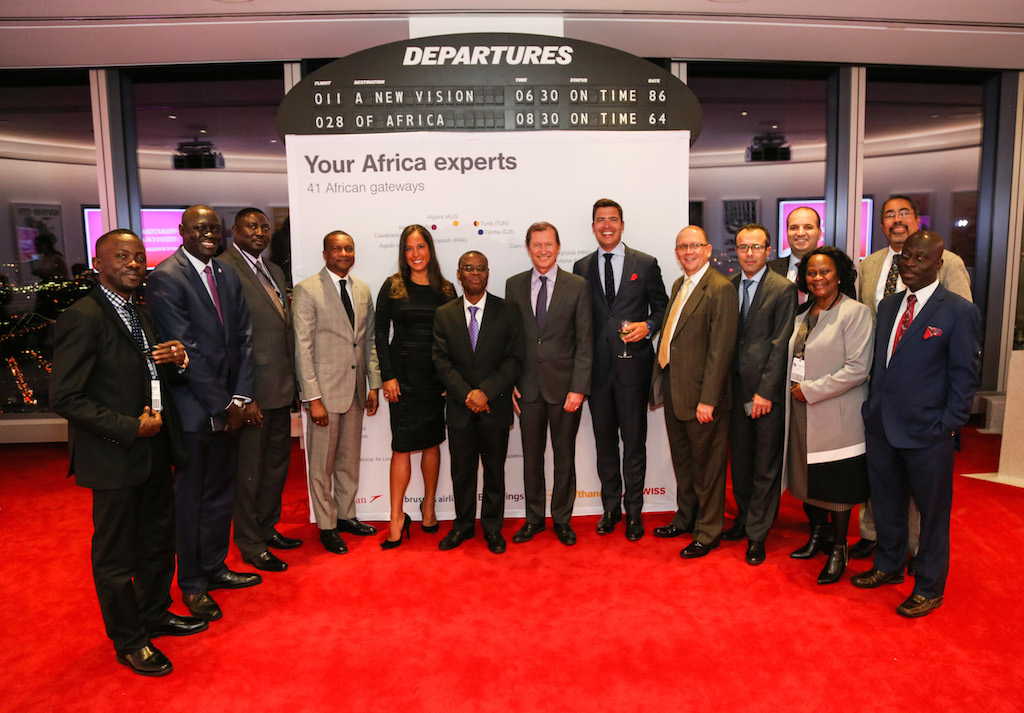Group photo from UN Ambassadors event