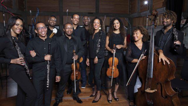 Members of Chineke! Orchestra