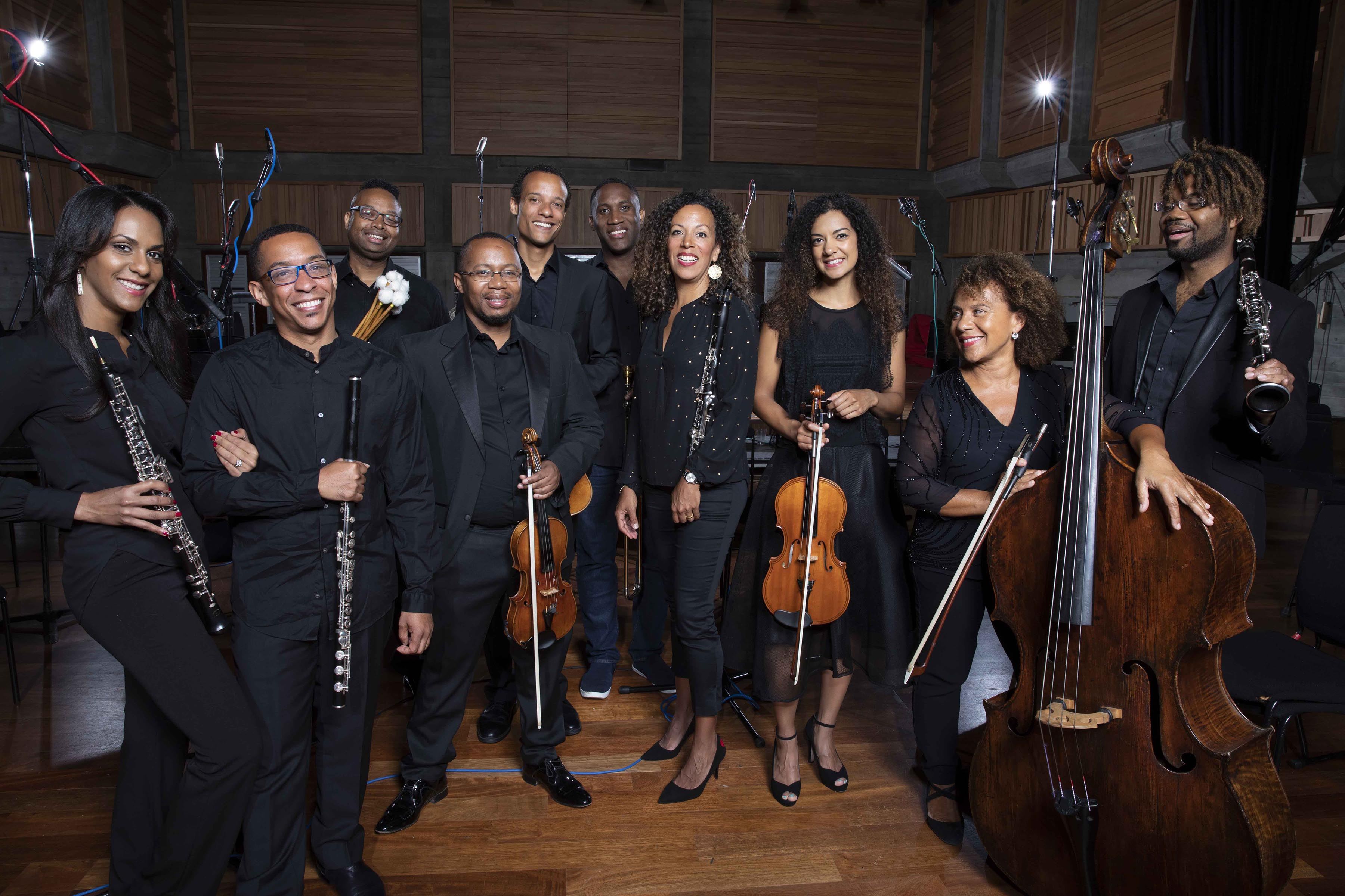 Members of Chineke! Orchestra