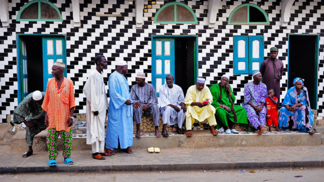 Photo of men in Senegal