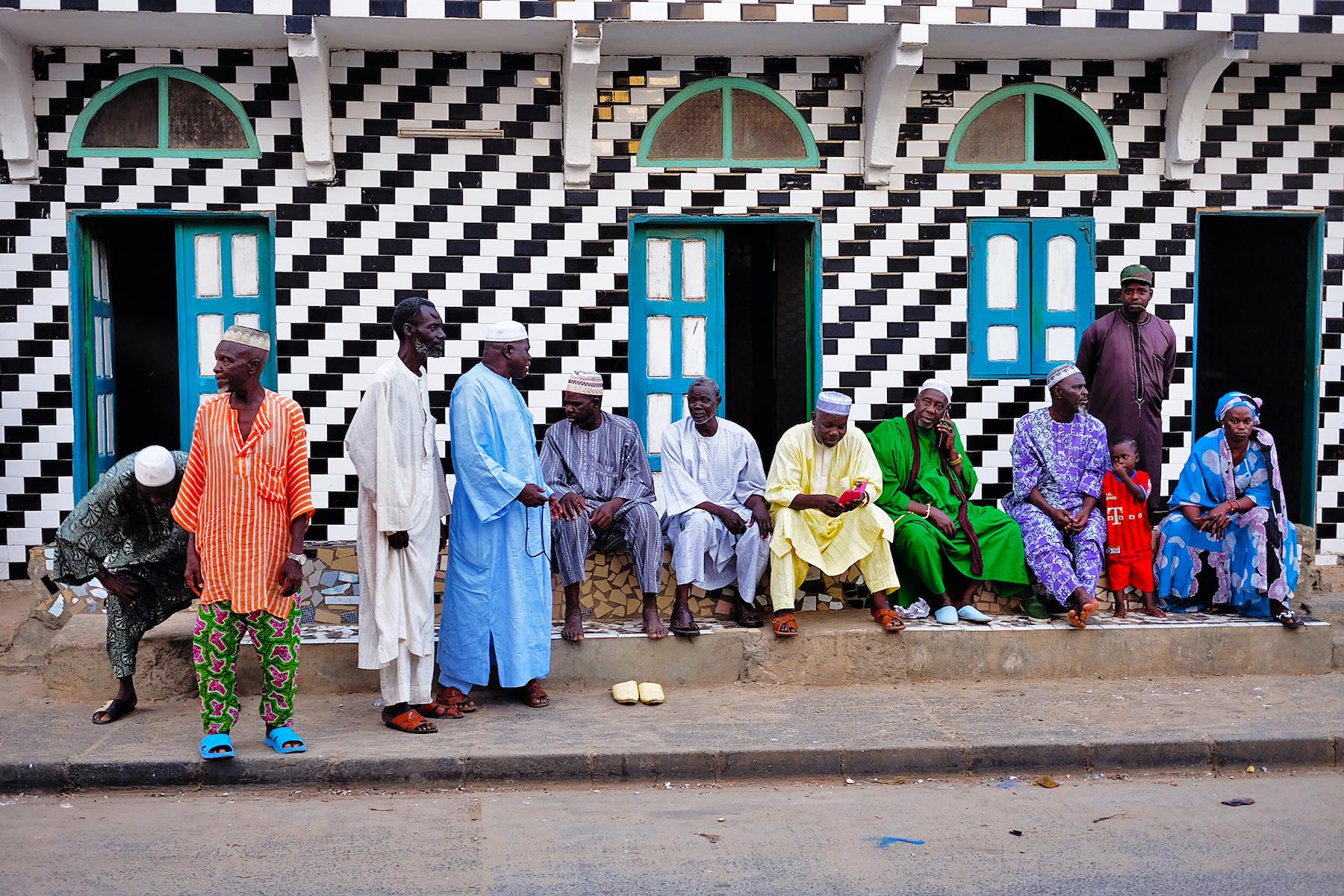 Photo of men in Senegal