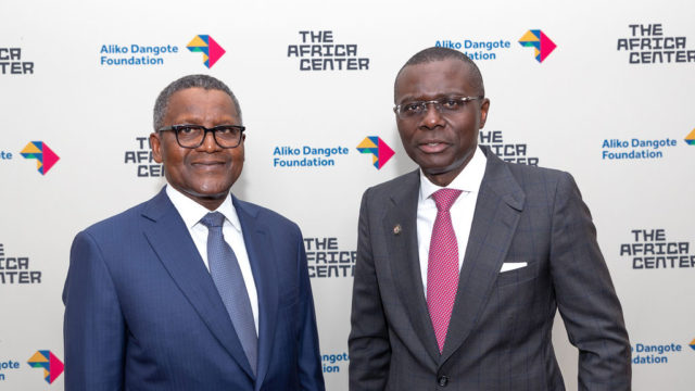 Guests at The Future Africa Forum at The Africa Center, September 23, 2019